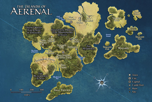 Map of Aerenal