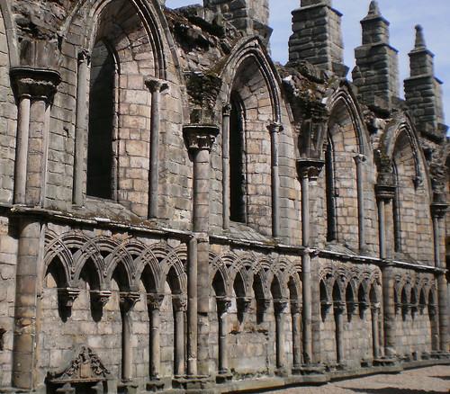 Abbey of Holyrood Edinburgh, Scotland