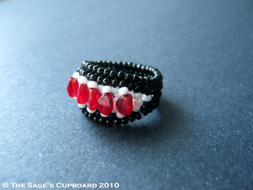 Black Forest Cherry Ring by The Sage's Cupboard