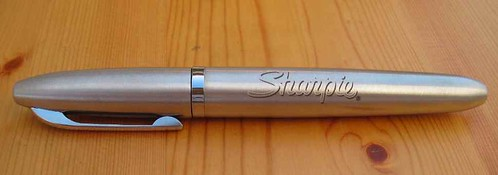 Stainless Steel Sharpie Refillable Permanent Marker