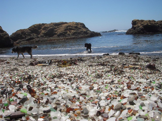 Mendocino Glass Beach