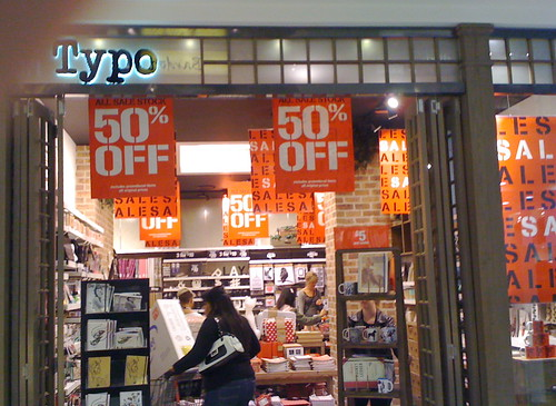 Typo in Westfield Parramatta