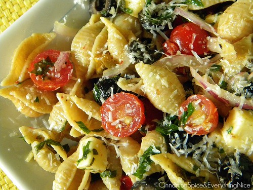 Herb and Cheese Pasta Salad