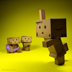 083/365:  Danbo School Of Ballet:  Doing An Arabesque! (Randy Santa-Ana) Tags: ballet toys dance arabesque danbo gf1 project365 danboard minidanboard minidanbo 365daysofdanbo