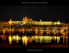 Prague Castle - Prague, Czech Republic (HDR) (farbspiel) Tags: travel bridge vacation holiday colour castle history tourism water colors photoshop reflections river photography ancient nikon colorful glow colours prag wideangle tschechien historic journey blended czechrepublic colourful nikkor charlesbridge vltava dri hdr highdynamicrange burg farben blend praguecastle moldau postprocessing dynamicrangeincrease 18200mm d90 cze photomatix digitalblending pragerburg tonemapped tonemapping farbenpracht pragerschloss detailenhancer topazadjust topazdenoise klausherrmann topazsoftware topazphotoshopbundle nikonafsdxnikkor18200mm13556gedvr