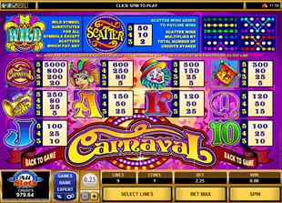 free Carnaval slot mini symbol