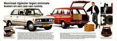 FSO Classic 1.5 SLE & Estate (Dutch brochure) (Skitmeister) Tags: auto fiat reclame 1987 ad 1988 advertisement advert fsm 1989 werbung brochure 1990 reklame reklama fso prospekt polonez polskifiat letak polmot skitmeister