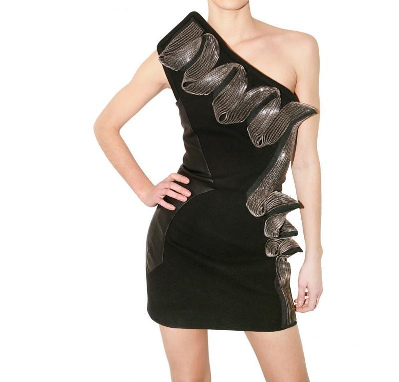 David Koma zip dress Luisaviaroma 4