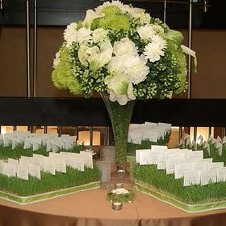 flores brancas arranjo casamento