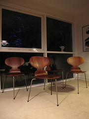 Arne Jacobsen Ant Chairs