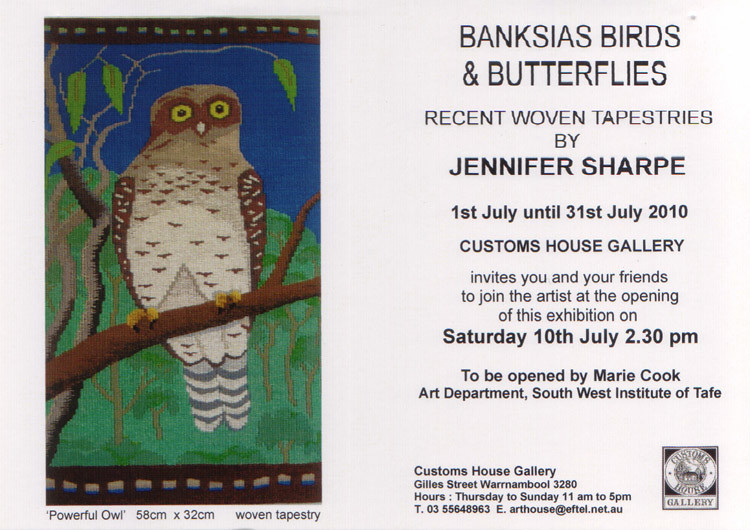 JENNIFER SHARPE INVITATION
