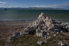 extruded (Long Ball Larry) Tags: california clouds monolake tufa highway395 stateparks leevining alkalilake carbonatelimestone