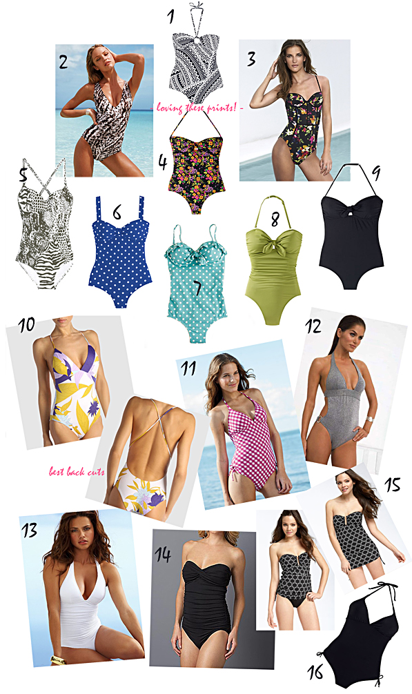 best one piece bathing suits 2010