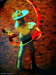 Rope trick (Cowgirl111) Tags: rope brushes trick touchup fingerpaint iphone dxp photofx