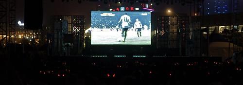 Korean soccer team supporters