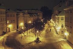 (O binoculo) Tags: night lights praha praga vila