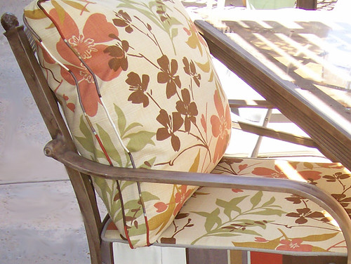 patio chair back pillow