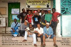 Kutchala Sutchi & 'La Tribu Sauvage', Studio 247, Abidjan-Yopougon, 26.06.2010 (0918)