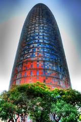HDR Agbar entera (jml_d90) Tags: barcelona torre agbar