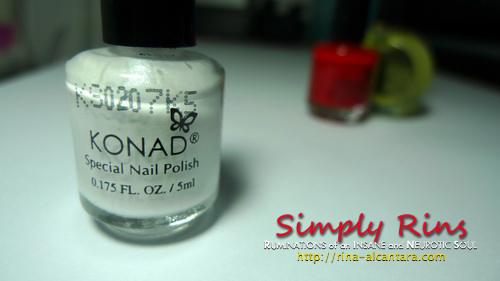 Konad Stamping Nail Art 004