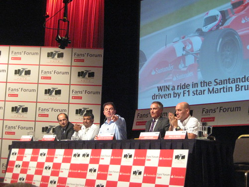 F1 FOTA Fan Forum by Santander