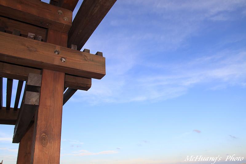 七股觀海樓夕景
