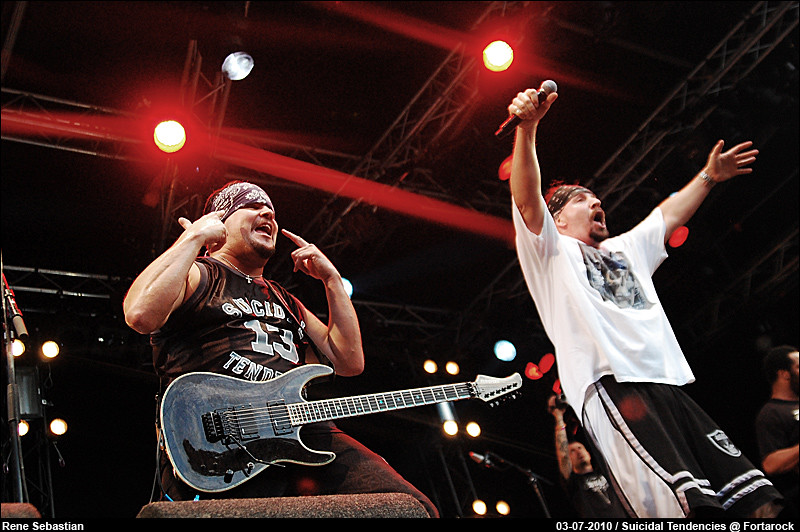 Suicidal Tendencies @ Fortarock