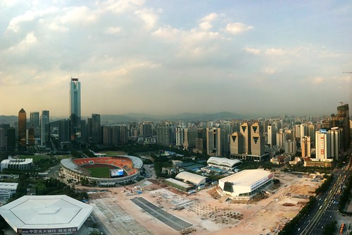 Panorama: Guangzhou (Taken with iPhone and Auto Stitch)