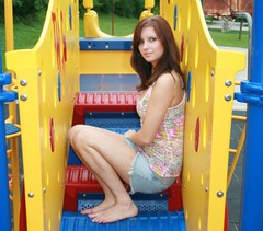 Sitting Portrait, Beauty on the Playground (PhotoAmateur1) Tags: blue friends summer portrait people favorite woman hot cute sexy art feet girl beautiful beauty smile face fashion lady female contrast wonderful pose hair fun outside amazing nice fantastic model eyes colorful long pretty close photoshoot legs emotion skin sweet body head expression feminine quality gorgeous chest femme great profile perspective creative picture style babe lips sensual barefoot figure attractive stunning tanktop denim features shorts brunette lovely elegant fabulous seductive radiant goodlooking magnificent stylish glamorous