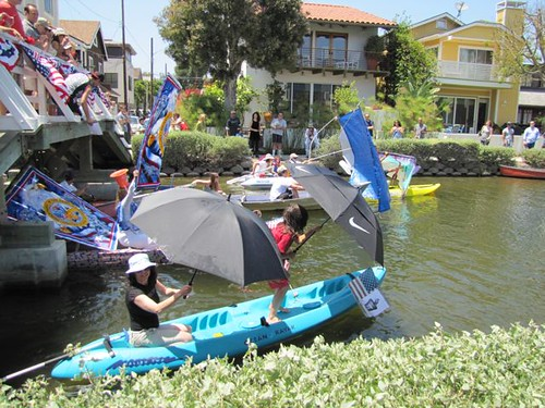 Venice Canals 4th of July Boat Parade