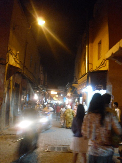 40 souks at night