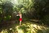 sprinkled and sundappled (mizmareck) Tags: alexis summer woman girl backyard sprinkler bikini swimsuit bathingsuit flybutter