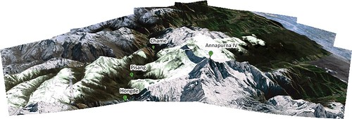 Annapurna_Google Earth