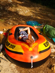 IMGP1264 (Pantera and Mateusz) Tags: summer june spain holidays pentax optio mallorca baleares 2010 balearicislands inflatableboat optiow80 pentaxoptiow80 sarahprudhomme