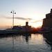 L'alba sul porto