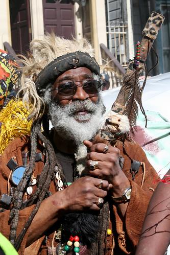 African Spiritual Man