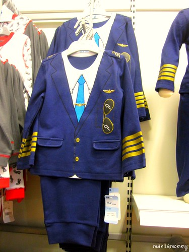 pilot uniform from mothercare