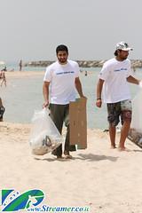 IMG_1576 (Streamer -  ) Tags: ocean girls friends sea people sun men green beach nature boys project fun israel garbage women volunteers cleanup clean billabong  streamer initiative enviornment    ashkelon         ashqelon      zalul