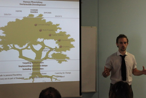Philipp Schoeffmann, Board Member at INEX presents the INEX Vision Tree