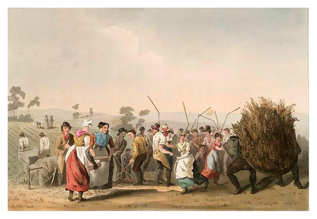 020-La trilla-The costume of Yorkshire...1814- George Walker