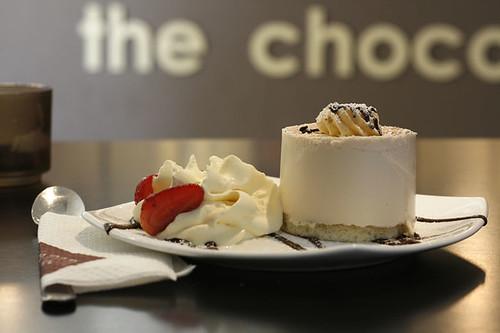 The Chocolate Room's Vanilla Cheesecake