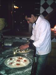 """Preparazione della """"pitta"""""""