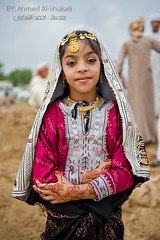 Omani girl in Traditional dress (digitalazia) Tags: portrait people face kids children nikon traditional jalan oman omani      d700   omanpeople