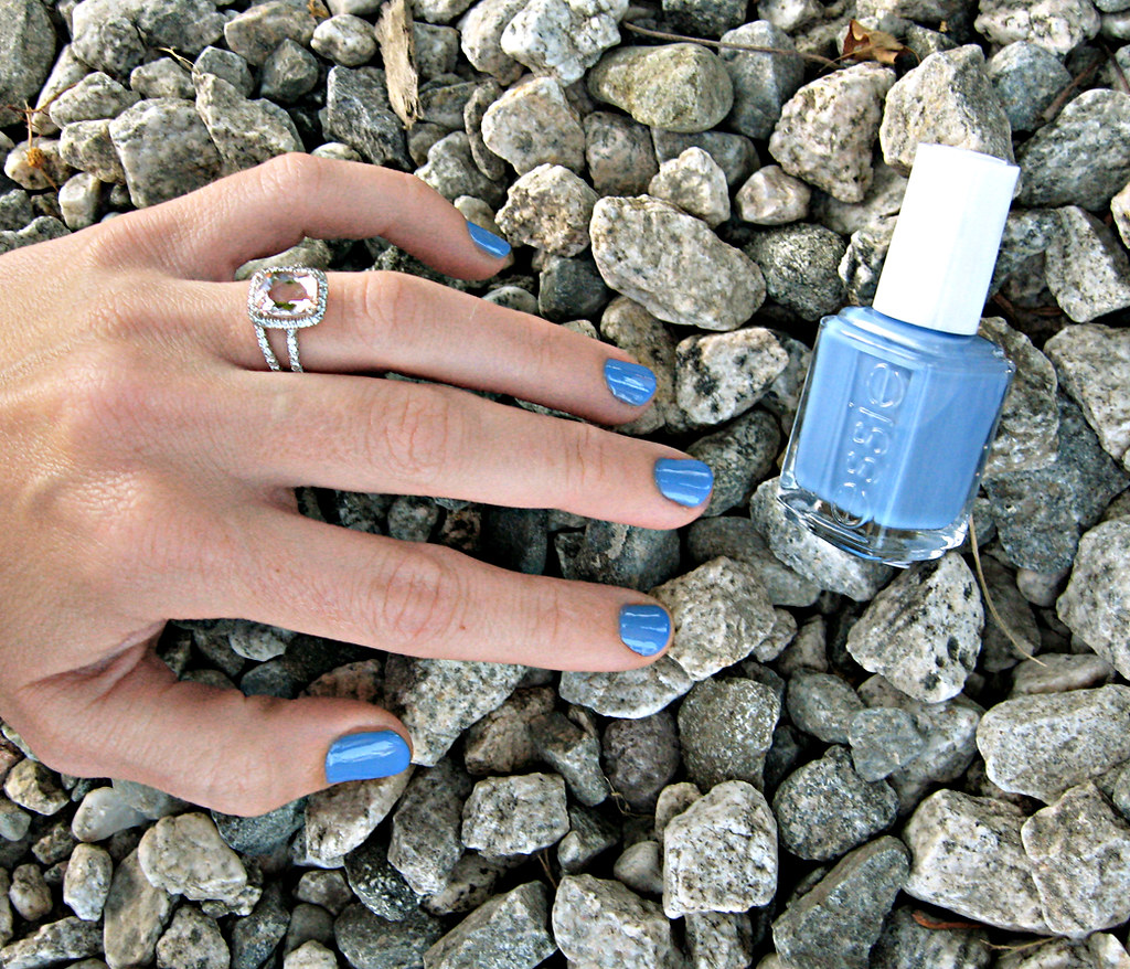 Essie nail polish+Lapis of Luxury+blue nail lacquer