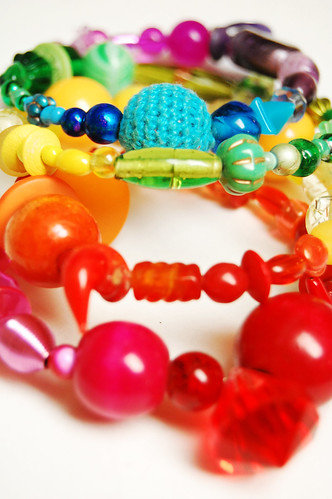 artsy spring bracelet