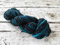 Teal Forest Superwash singles