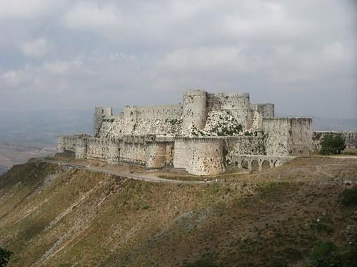 Crack dos Cavaleiros, Síria