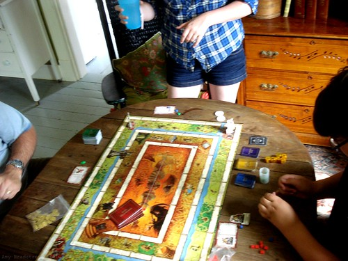 a weekend game of Talisman