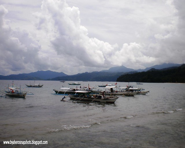 Sabang Port in Puerto Princesa City