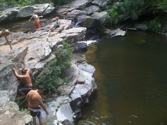 Falls on Cheaha Creek